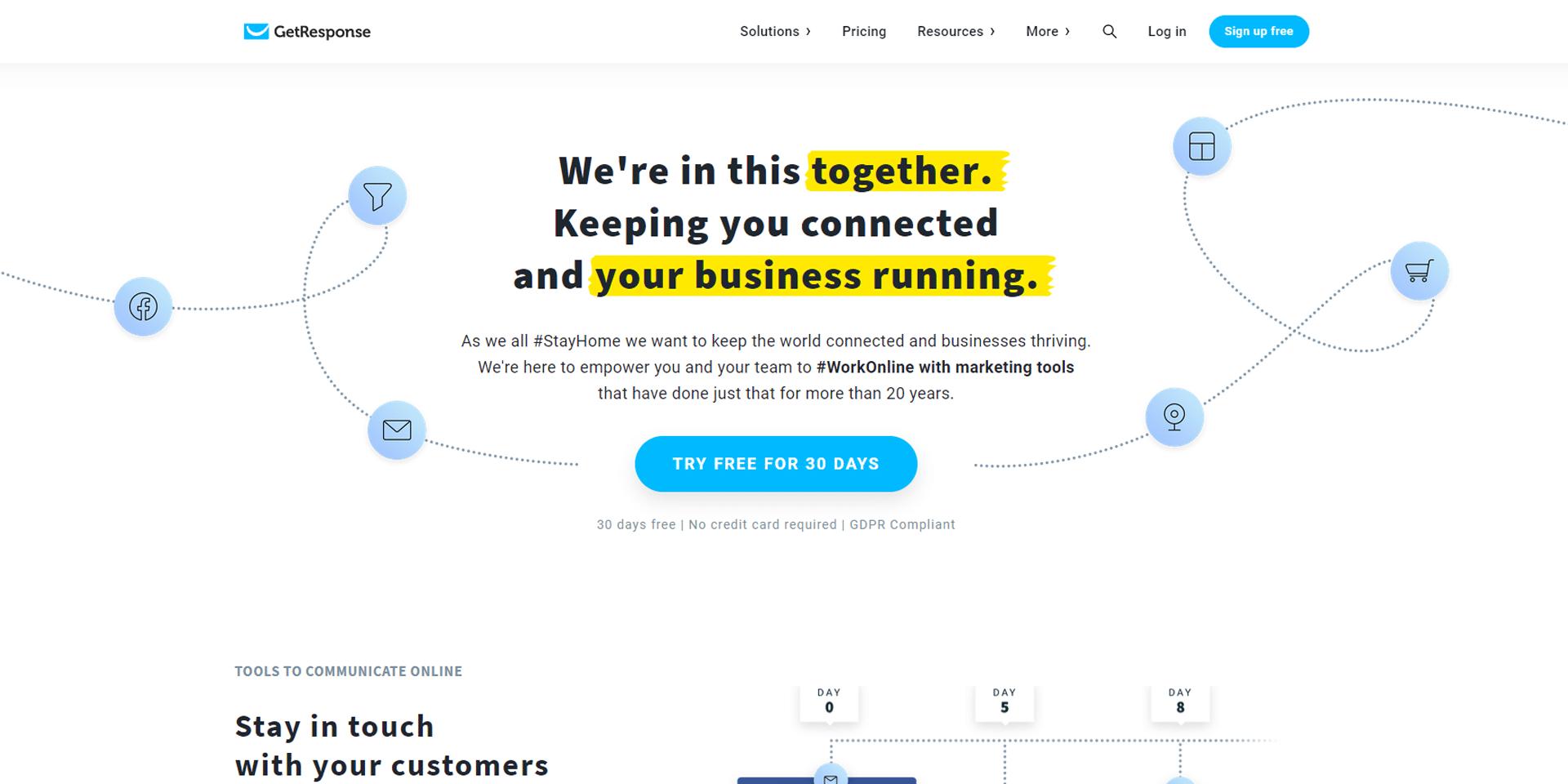 email marketing tools - getresponse